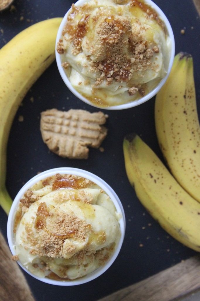 banana pudding with peanut butter cookie crumbles 2