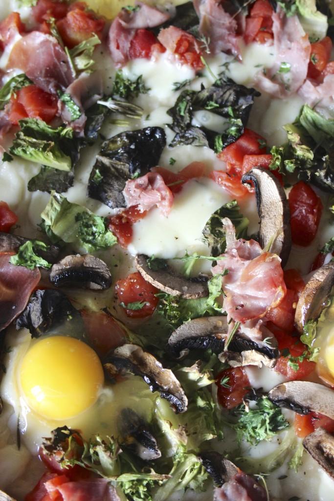 egg on pizza 2